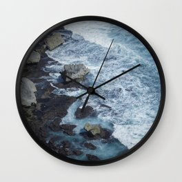 Uluwatu Waters Wall Clock
