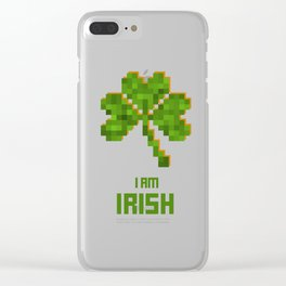 Happy St. Patrick's Day! Clear iPhone Case