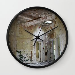 Forgotten Corridors Wall Clock