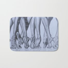 Dancers Feet Bath Mat