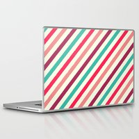 striped Laptop & iPad Skins featuring Striped. by Tayler Willcox