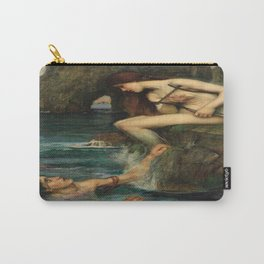 """""""The Siren"""" by John William Waterhouse (1900) Carry-All Pouch"""