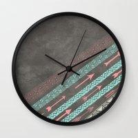 arizona Wall Clocks featuring Arizona by EverMore