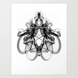 Double PeeWee Art Print
