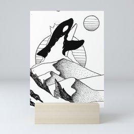 Sandwhale Mini Art Print