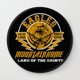 Eagles mountain home one of a kind limited edition funny Wall Clock