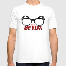 Mr Kent Mens Fitted Tee White X-LARGE