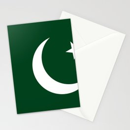 Pakistan Flag Stationery Cards