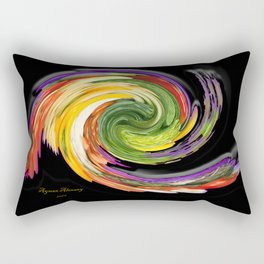 The whirl of life, W1.9B Rectangular Pillow