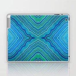 Abstract #9 - IX - Blues & Greens Laptop & iPad Skin