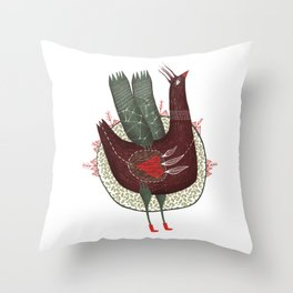 I have so much of sky in my heart Throw Pillow