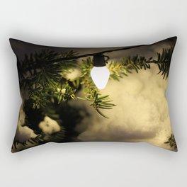 Light and Snow Rectangular Pillow