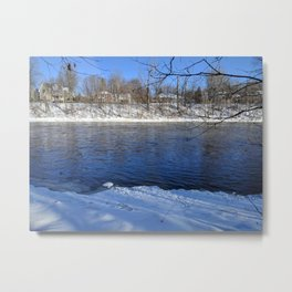 River Flows Metal Print