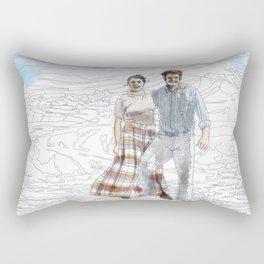Bob and Fanny Rectangular Pillow