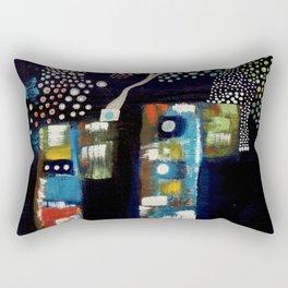 Silver silence Rectangular Pillow