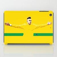 brasil iPad Cases featuring Neymar Brasil by lockerroom51