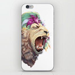 Rainbow Lion iPhone Skin