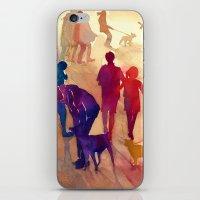 best friends iPhone & iPod Skins featuring Best friends by takmaj