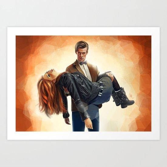 Asylum of the daleks - Doctor Who Art Print