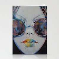 asia Stationery Cards featuring Asia by Michael Creese