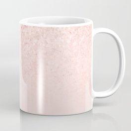 Rose Gold Pink Mermaid Sparkles III Coffee Mug
