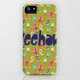 Giddy Up Cowgirl iPhone Case