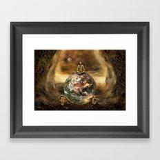 Master of the World Framed Art Print