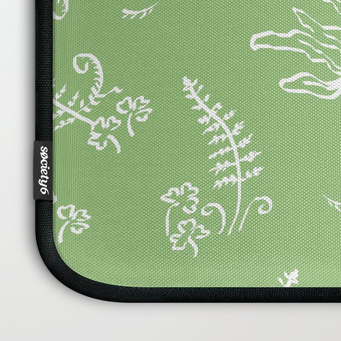 Lady Fern - Green Laptop Sleeve
