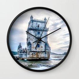 Belém Tower, Lisbon (Portugal) Wall Clock