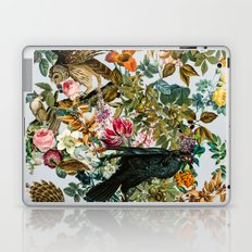 FLORAL AND BIRDS VI Laptop & iPad Skin