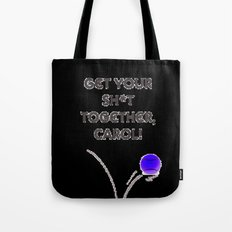 Bad day on the tennis court... Tote Bag