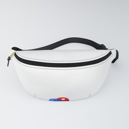 Lucky Ping Pong design Funny Gift For Table Tennis Players Fanny Pack