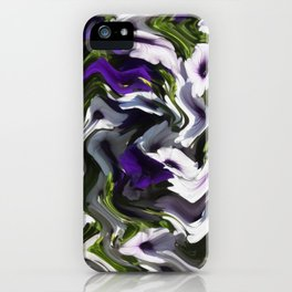 Petunias in Abstract iPhone Case