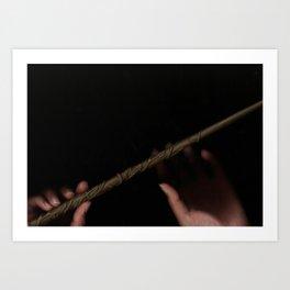 Hermione // #ScannedSeries Art Print