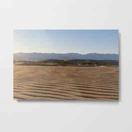 Dune Ripples Metal Print