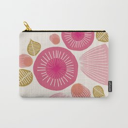 Vintage Floral Light Carry-All Pouch