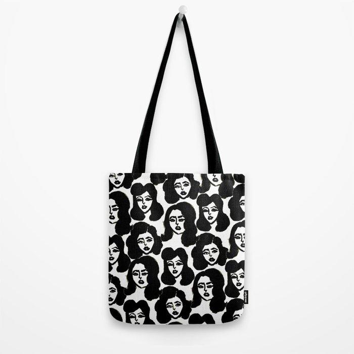 Retro Girls Tote Bag