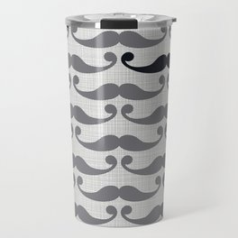 Mustaches Travel Mug