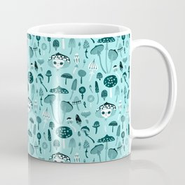 Mad Tea Party III - Mushrooms Coffee Mug
