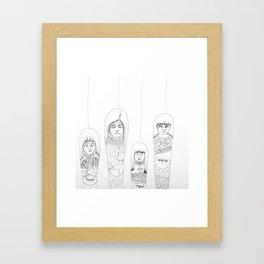 Kachina Girls Framed Art Print