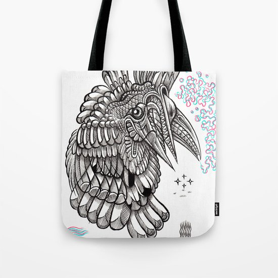Fright 2 Tote Bag