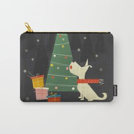 Little White Christmas Westie Carry-All Pouch