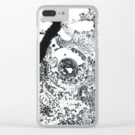 Just Patch Clear iPhone Case