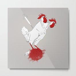 Tyson Chicken Metal Print