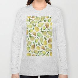 Watercolour Pears Long Sleeve T-shirt