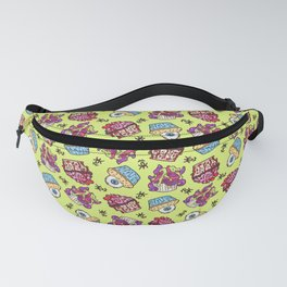 Monster Cupcakes Fanny Pack