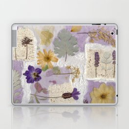 Lavender Collage Laptop & iPad Skin