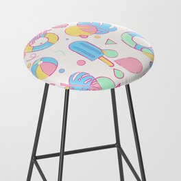 Summer Vibes Bar Stool