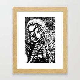 Cyber Framed Art Print