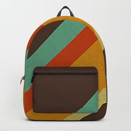 Retro 70s Color Palette Backpack